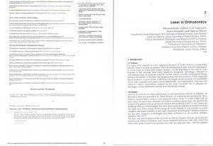 Laser in Orthodontics. In: Principles in Contemporary Orthodontics